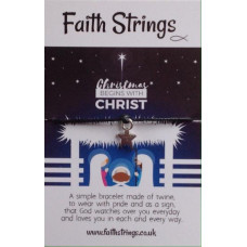 Faith Strings Bracelet - Christmas Begins
