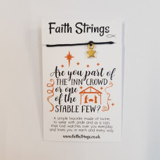 Faith Strings Bracelet : Inn Crowd
