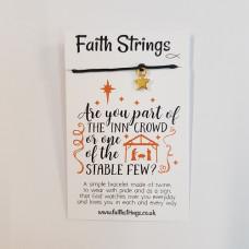 Faith Strings Bracelet : Inn Crowd