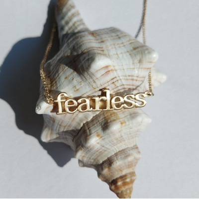 Fearless Gold Effect Necklace
