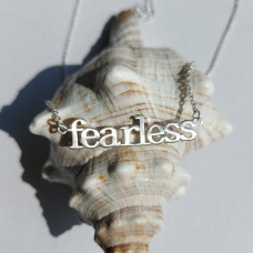 Fearless Silver Effect Necklace