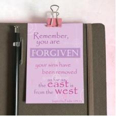 Mini Card: Remember You Are Forgiven