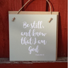 Gift A Card - Be Still And Know