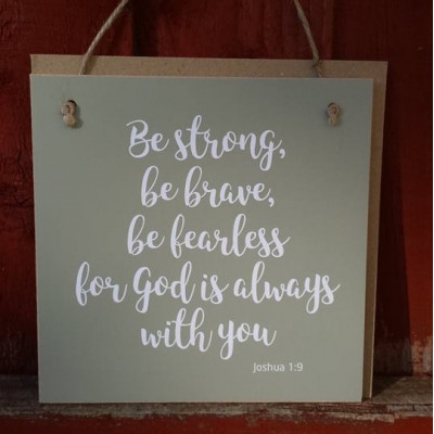 Gift A Card - Be Strong Be Brave