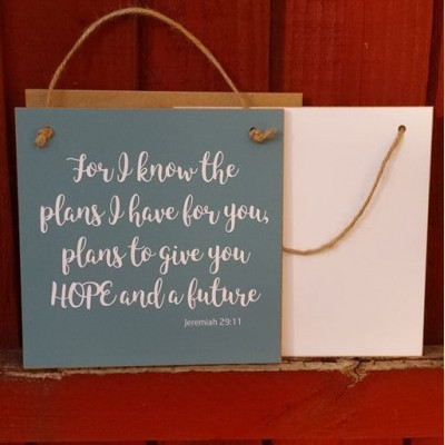Gift A Card - For I Know The Plans