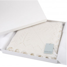 Gift Boxed Pure Wool Christening Shawl