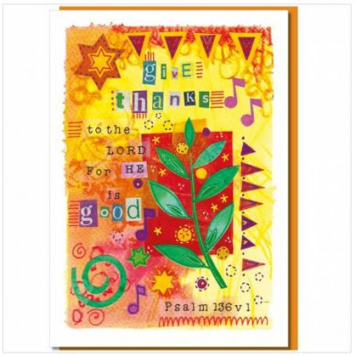Give Thanks Greetings Card