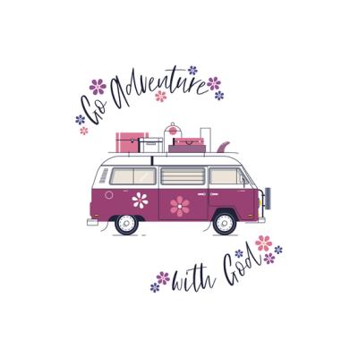 Mini Card: Go Adventure Flowers