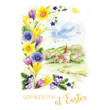 God Bless You At Easter Pack Of 5 Cards