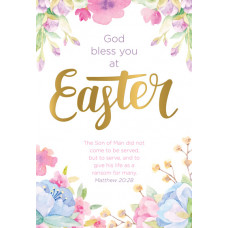Compassion Charity Easter Cards - Floral (Pack of 8)