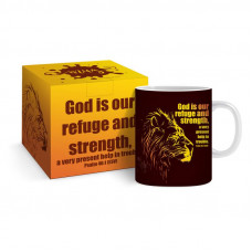 God Is Our Refuge And Strength Boxed Mug