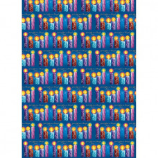 God's Gifts Blue Gift Wrap And Tags