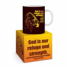 God Is Our Refuge And Strength Mug And Gift Box