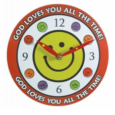 God Loves You All The Time Clock