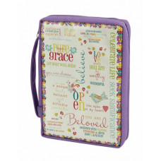 Purple Grace Bible Cover