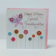 Happy Birthday Special Granddaughter Greetings Card