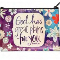 Great Plans Zippered Pouch Bag