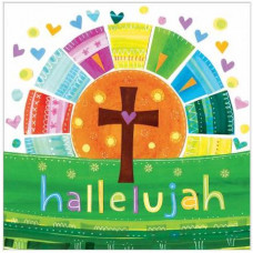 Easter Cards Pack Of 5 Colourful Hallelujah