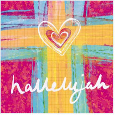 Hallelujah Heart Easter Cards Pack Of 5