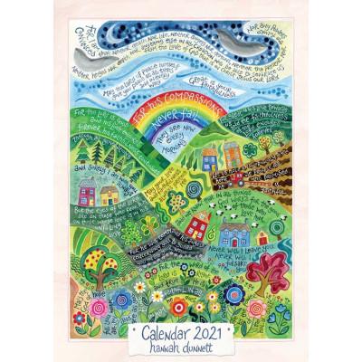 Hannah Dunnett A3 Calendar 2021