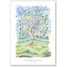 Hannah Dunnett An Instrument Of Your Peace Poster