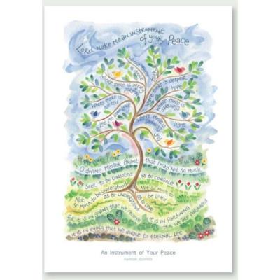 Hannah Dunnett An Instrument Of Your Peace Card