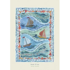 Hannah Dunnett Breath Of God Greetings Card