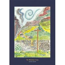 Hannah Dunnett The Wondrous Cross A5 Greetings Card