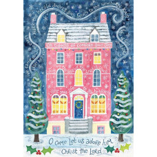 Hannah Dunnett Single Comfort & Joy Christmas Card A5