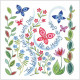 Hannah Dunnett Square Notecards Delight / God Is With You