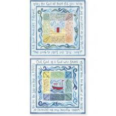 Hannah Dunnett Square Notecards God Of Hope / God Who Saves