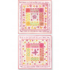 Hannah Dunnett Square Notecards: Hope In The Lord / Trust In The Lord