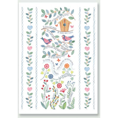 Hannah Dunnett Love Is Patient Card