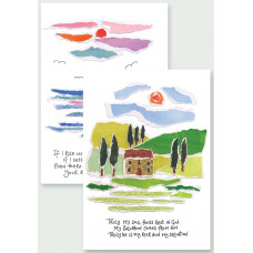 Hannah Dunnett Notecards My Soul Finds Rest / Wings Of The Dawn