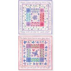Hannah Dunnett Square Notecards Peace / He Will Rejoice