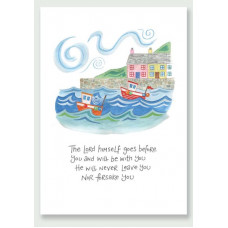 Hannah Dunnett The Lord Goes Before You A4 Print