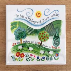 Hannah Dunnett Coaster - The Lord Is My Shepherd