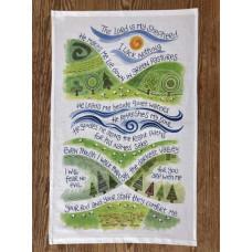 Hannah Dunnett Tea Towel - The Lord is My Shepherd