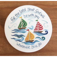 Hannah Dunnett Coaster Wherever You Go