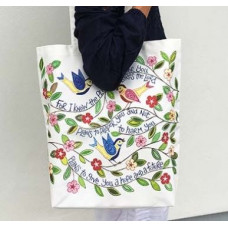 Hannah Dunnett Canvas Tote Bag I Know The Plans / I Have Come