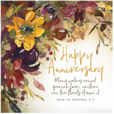 Happy Anniversary Russet Flowers