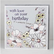 Wonderful Friend Birthday Card