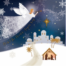 Christmas Cards 10 Pack Hark The Herald Angel