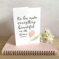 He Has Made Everything Beautiful Card