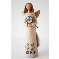 His Will His Way My Faith Angel