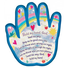 Hold My Hand God Plaque