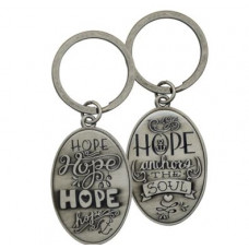 Pewter Keyring Hope