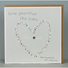 How Precious The Time Little One Greetings Card
