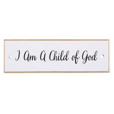 Child Of God Ceramic Wall Plaque