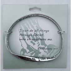 I can do All Things Scripture Bangle